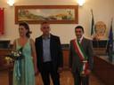 il sindaco e gli sposi